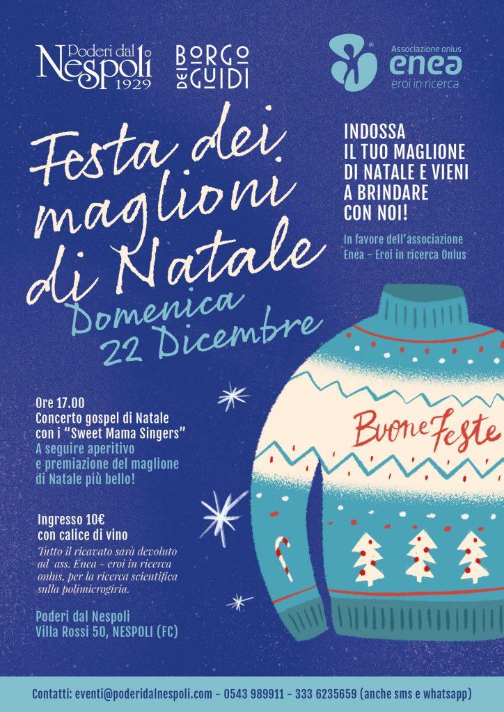 Festa dei maglioni di Natale - Poderi dal Nespoli